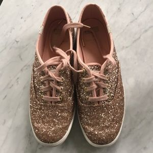 Keds for Kate Spade sparkly sneakers!